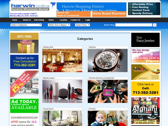 Harwin Online